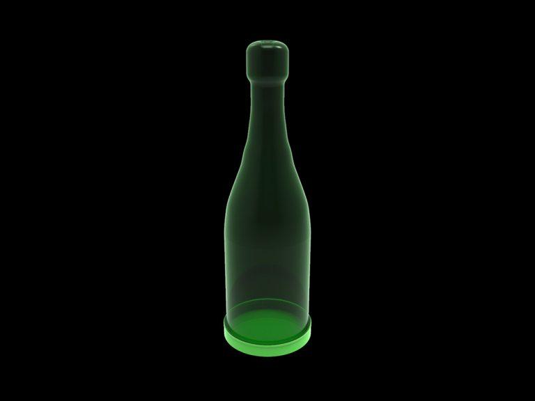 Банка декоративная «Шампанское», объём 1.4 л
